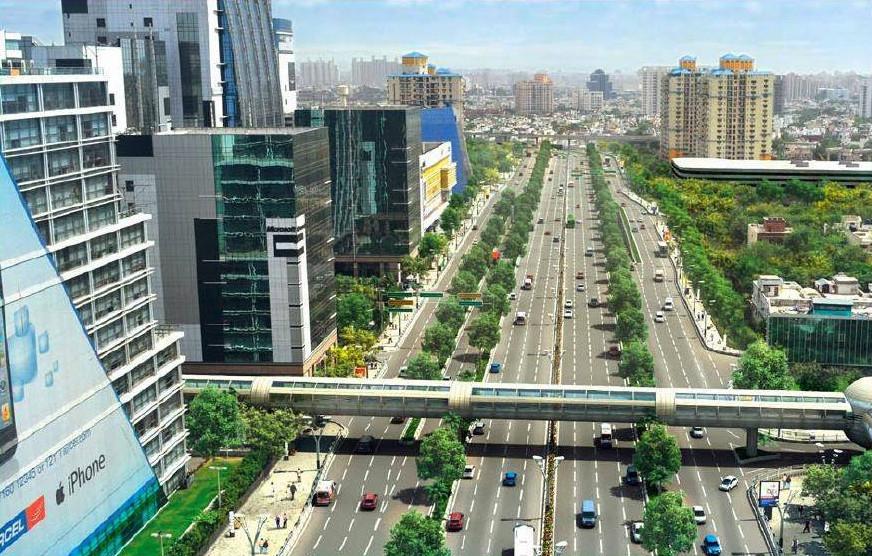 cities having metro train in india